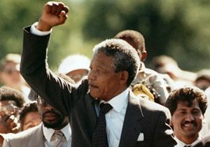 Нельсон Мандела впервые за два года появился на публике