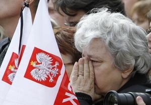 Фотогалерея: В последний путь. Польша простилась с Лехом Качиньским