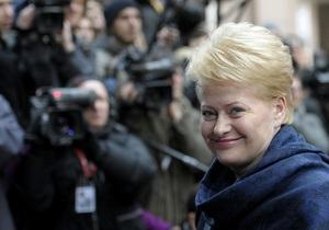 Президент Литвы рассказала о своей встрече с Тимошенко: Она думает о будущем Украины