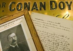 В Великобритании опубликуют потерянный роман Конан Дойля