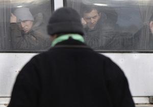 ВО Батьківщина: В Киев свозят молодчиков спортивной внешности из Донецка и Днепропетровска