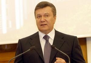 Янукович пообещал активизировать приватизацию в Украине