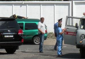 Добкин признал себя виновным в ДТП
