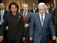Райс призывает палестинцев к возобновлению мирных переговоров