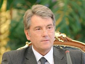 Ющенко пожелал Чавесу крепкого здоровья и успехов