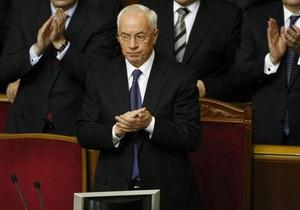Азаров обязал министров разобраться, почему деньги не пошли на зарплаты
