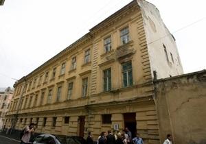 СБУ допрашивает сотрудников львовского музея Тюрьма на Лонцкого