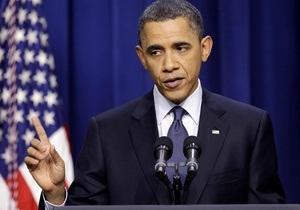СМИ: Обама подписал секретный указ о помощи ливийской оппозиции