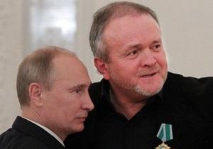 Путин наградил украинского рок-музыканта Олега Карамазова орденом Дружбы