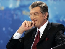 В Давосе Ющенко арендовал виллу с белкой