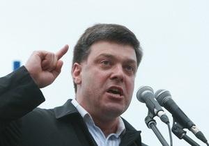 Тягнибок пригрозил Табачнику смертной казнью: Гагарин долетался, а он договорится