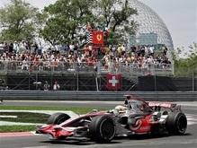 Льюис Хэмилтон выигрывает квалификацию Гран-при Канады