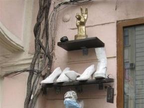 В Черновцах открыли памятник Януковичу