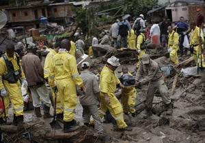 В результате оползней в Бразилии погибло 894 человека