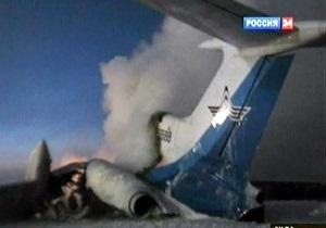 Названа причина аварии Ту-154 в Сургуте