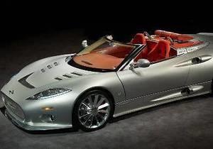Новый кабриолет Spyker C8 Aileron выйдет тиражом в 99 экземпляров