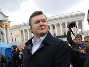 Янукович рассчитывает победить на президентских выборах уже в первом туре