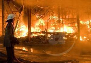 В Харькове сгорело 14 гаражей и четыре автомобиля