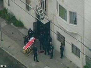 В США вооруженный преступник ранил четверых полицейских