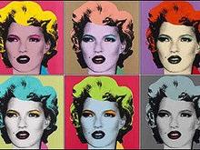 Кейт Мосс от граффитчика Бэнкси продана за $190 000
