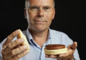 Искусственный гамбургер за 215 тыс. фунтов - видео