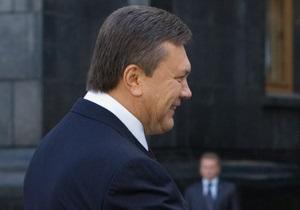 Янукович рассказал, кого он считает одним из  наиболее прогрессивных  лидеров стран СНГ