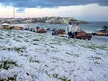 В Сиднее впервые с 1836 года выпал снег