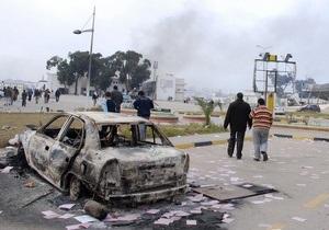 В ливийской пустыне оказались заблокированными около 600 иностранцев