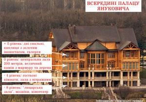 УП опубликовала фото внутри нового дома Януковича в Межигорье
