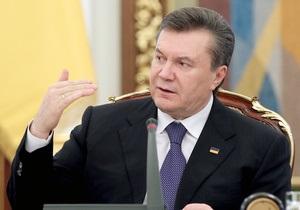 Янукович: Проведение Всемирного газетного конгресса в Киеве свидетельствует о движении Украины к демократии
