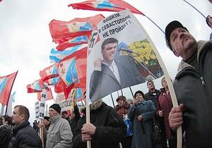 Тягнибок: Ющенко не способен остановить антиукраинскую истерию в Крыму