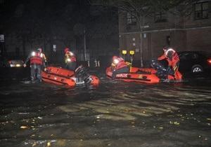 Ураган Сэнди: В Нью-Йорке полностью затоплены семь линий метро