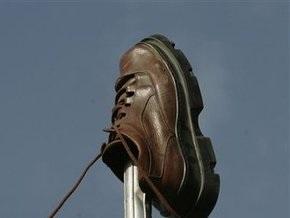 В Ираке уничтожили ботинки, брошенные в Буша