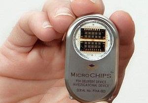 Ученые провели первое испытание микрочипов с лекарствами