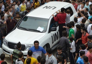 Глава ООН предложил переформатировать миссию наблюдателей в Сирии