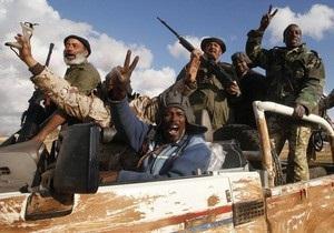 Ливийские повстанцы недовольны действиями НАТО