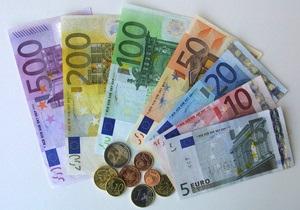 Евро снижается на межбанке