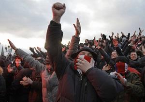 Россияне разошлись во мнениях относительно оценки акции на Манежной площади