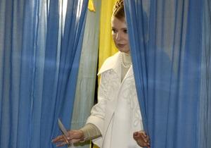 Штаб Тимошенко пока не комментирует результатов экзит-поллов