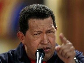 Чавес сообщил о замораживании отношений с Колумбией