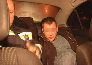 В Киеве ГАИ задержала автомобиль с пьяными милиционерами