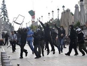 Демократия по-гречески: в Салониках произошли новые столкновения