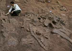 В Китае обнаружили останки однопалого динозавра