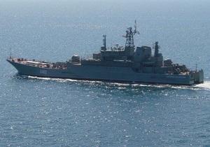 В Триполи украинский корабль начал прием на борт желающих эвакуироваться