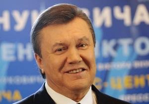 Янукович заверил, что газовых кризисов больше не будет