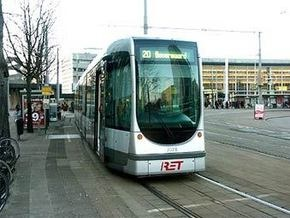 В Роттердаме столкнулись два трамвая: 40 пострадавших