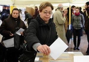 Каталонцы проголосовали за отделение от Испании