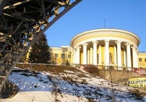Киеву вернули участок земли возле Октябрьского дворца