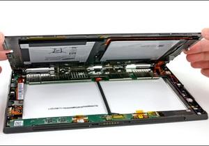Планшет Microsoft Surface признали сложным для ремонта