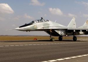 В Индии потерпел крушение истребитель МиГ-29